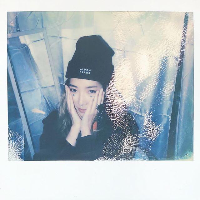 One of the best producers out there. @tokimonsta  Shot on @impossibleprojectid #spectra film - the sick Minolta one. #polaroid #instant #impossible #impossibleproject #nofilter #nye #snowglobemusicfestival