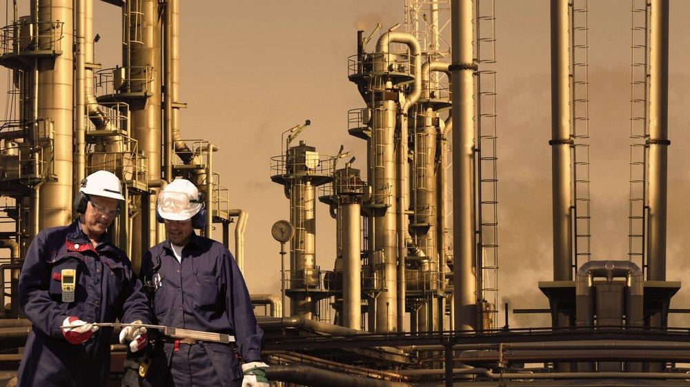 Oil refinery evening.jpg