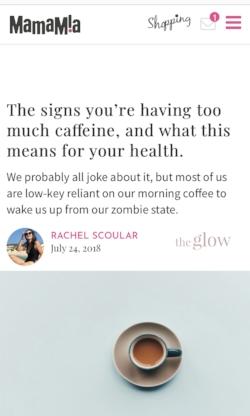 Caffeine Intake