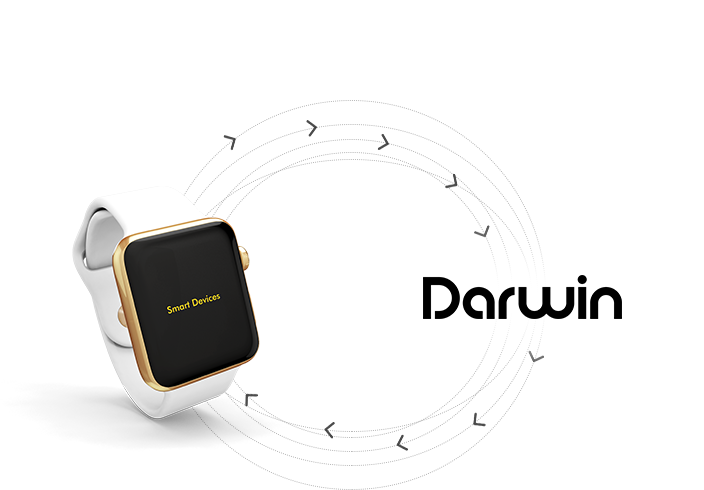 Darwin can integrate with other wearable devices to fetch raw data in order to draw smarter insights.  - Get answers to to important questions: How did I sleep?How's my mood?Did I take my vitamins?How productive was I?