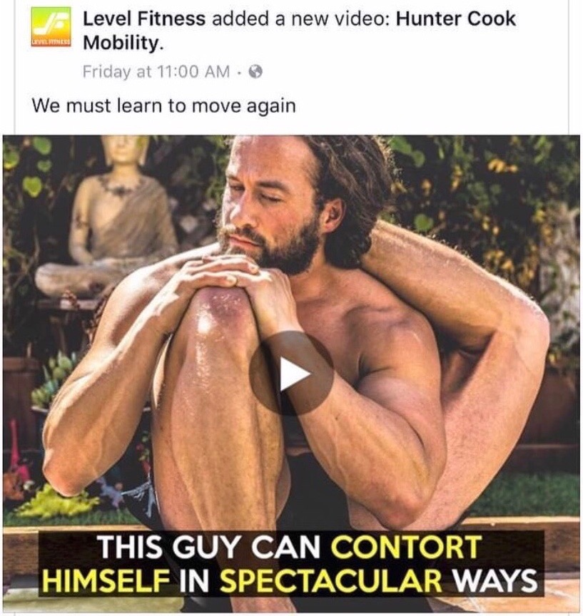 <p><strong>Level Fitness</strong>Viral Video<a href='https://www.facebook.com/permalink.php?story_fbid=1282665778435366&id=367614266607193'>More →</a></p>