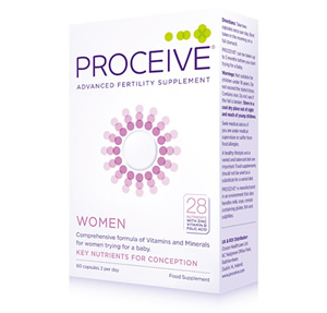 Proceive Women's Fertility Supplements