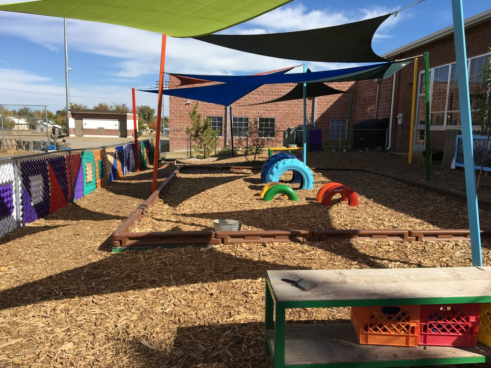 playground after the renovation.