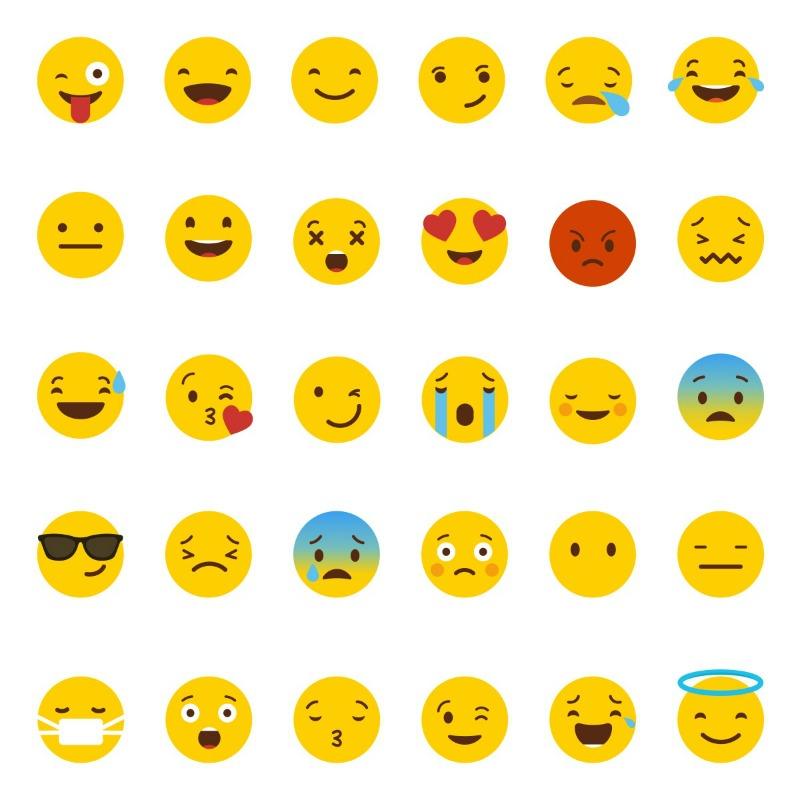 social media emoticons