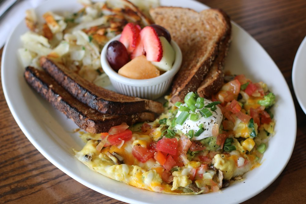 Veggie Scramble Stacks Restaurant