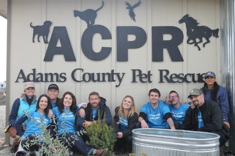 """The Animal House Team, rebuilding """"Adams County Pet Rescue"""" shelter (Rebecca Rodriguez, Creator / Producer)"""