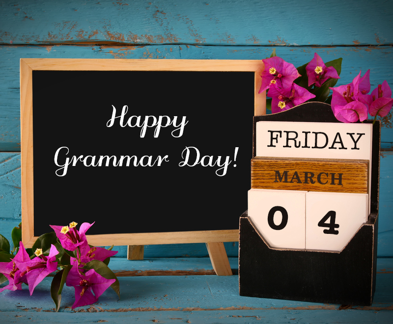 How to Celebrate National Grammar Day
