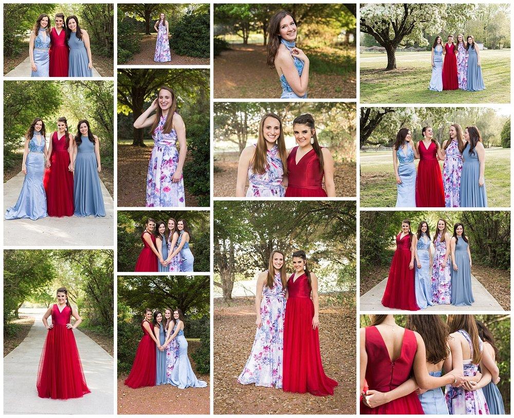 auburn high school prom photos - lauren beesley photography
