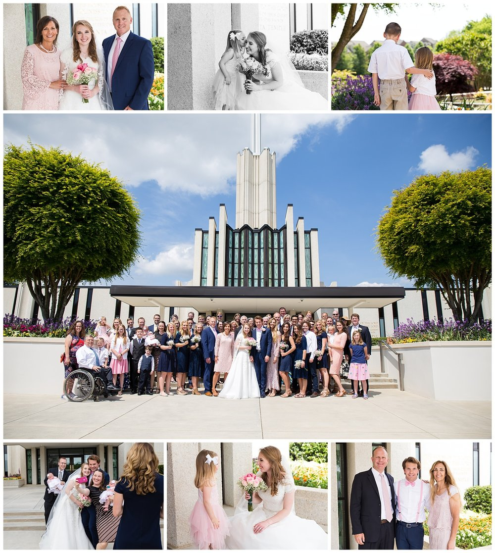 atlanta georgia temple wedding lauren beesley photography
