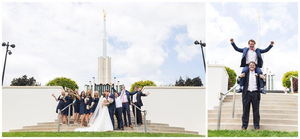 atl lds temple wedding lauren beesley photography