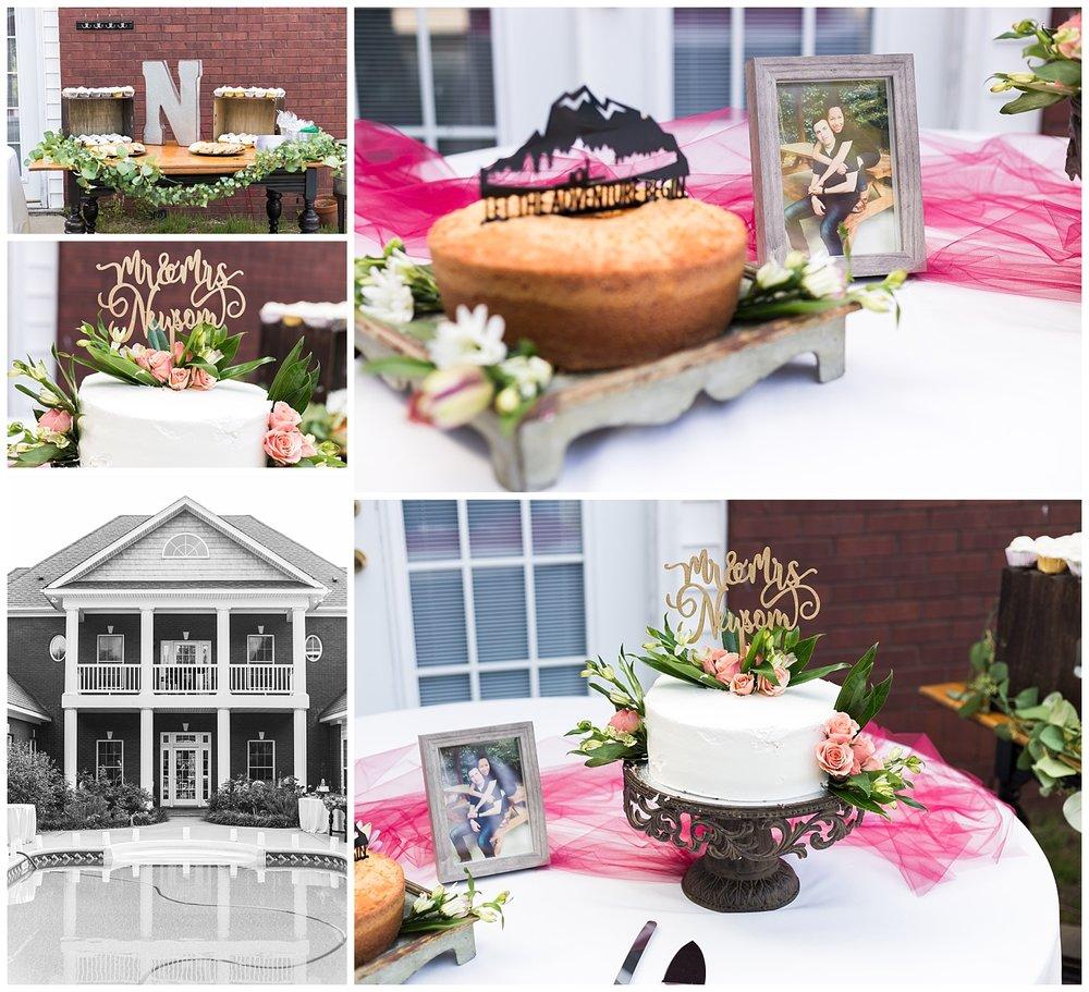 custom wedding cake topper