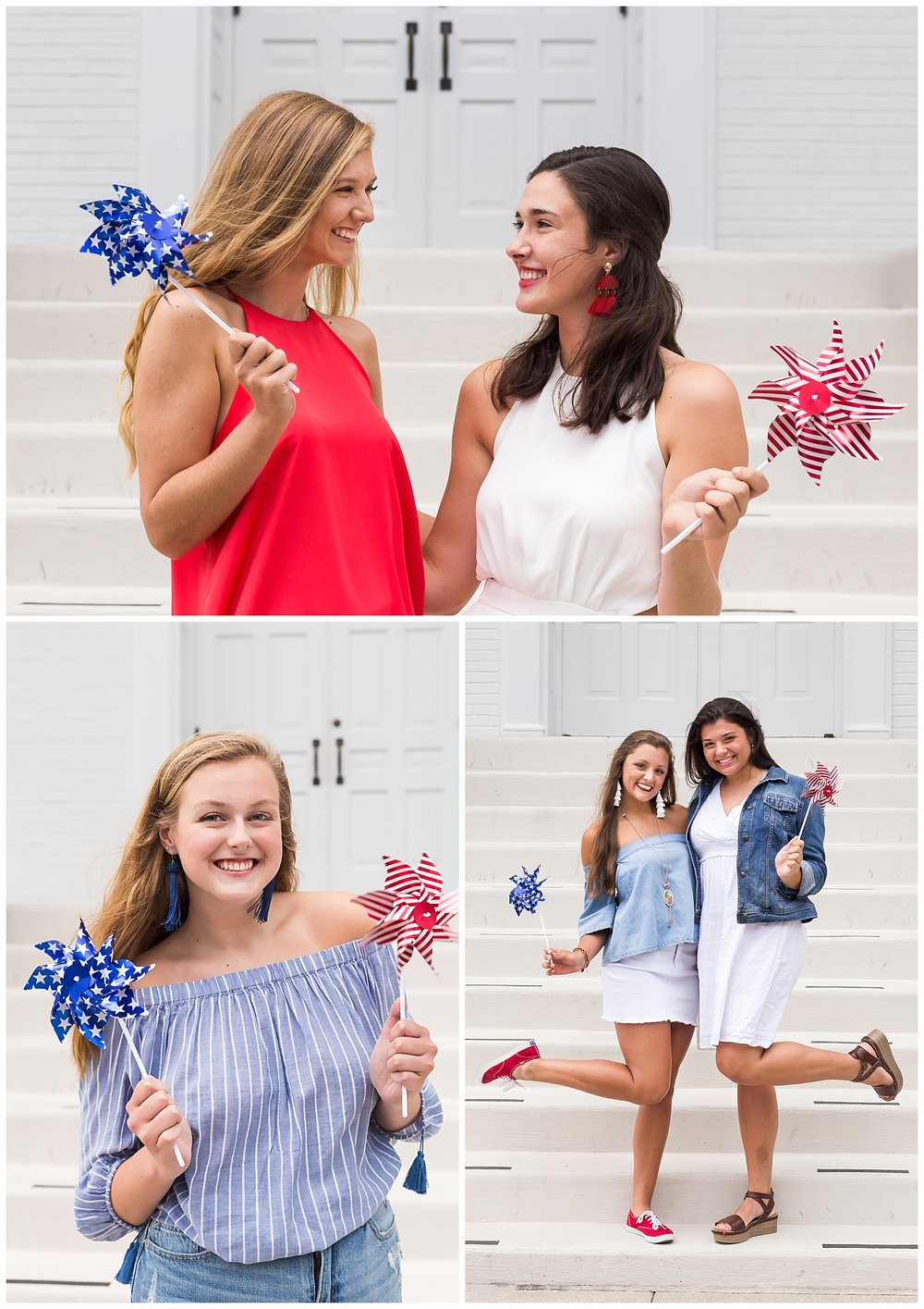 historic downtown opelika senior photos july 4th lbeesleyphoto