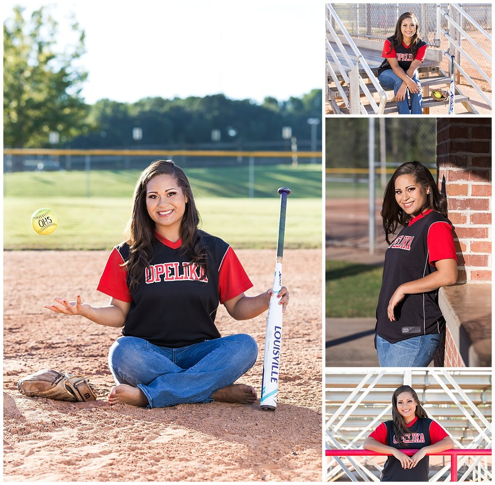 opelika softball senior portraits lbeesleyphoto