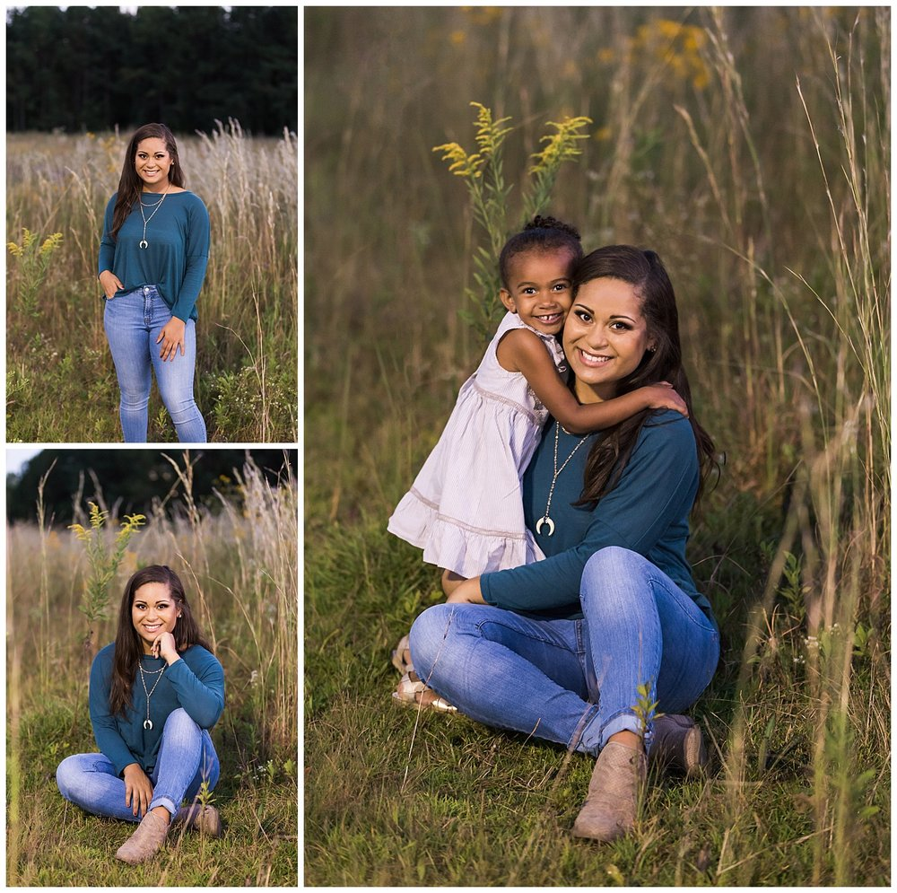 grassy fields sibling senior photos alabama senior portraits lbeesleyphoto