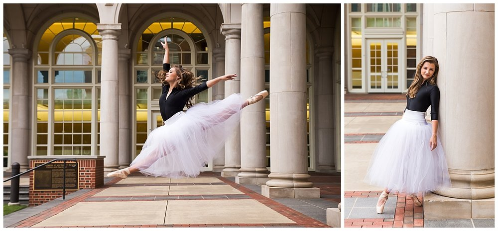 auburn alabama dance portraits lauren beesley photography ballet pointe senior photos