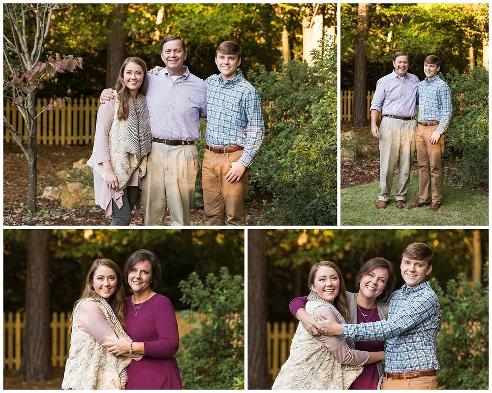 backyard family photos auburn alabama lauren beesley photography