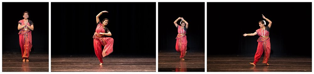 distinguished young women lee county talent indian dance