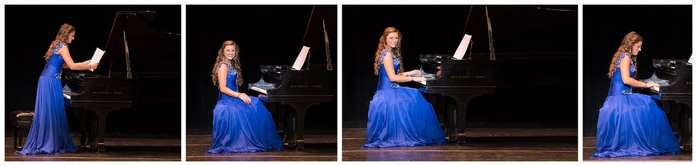 distinguished young women lee county talent piano