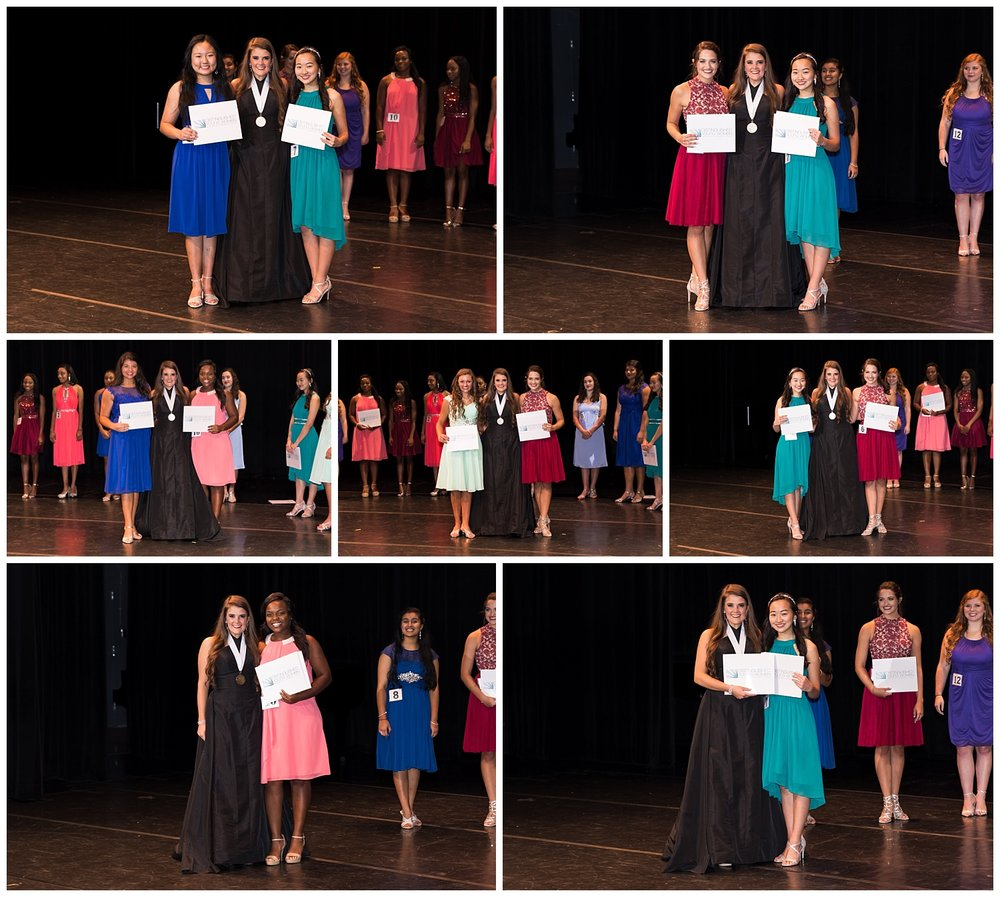 distinguished young women lee county talent awards