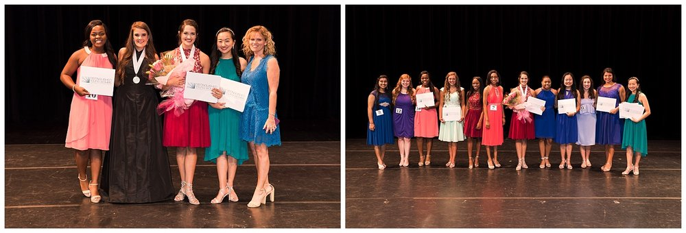 distinguished young women lee county talent 2018 2019