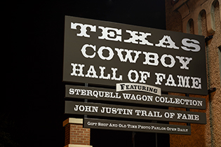 Texas cowboy hall of fame -