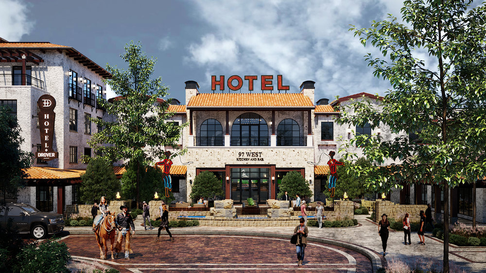 Hotel Drover opening Spring, 2020