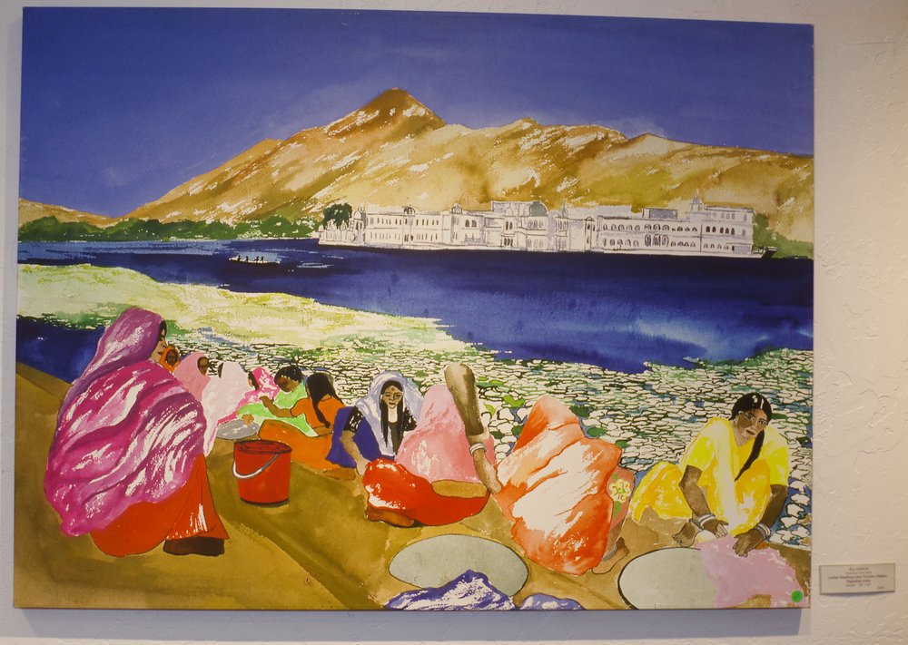 Ladies Washing Lake Pichiola Udaipur  - $800