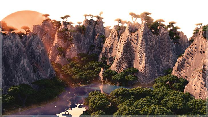 Custom Terrain from $49 - Beautifully constructed world with custom objects and structures