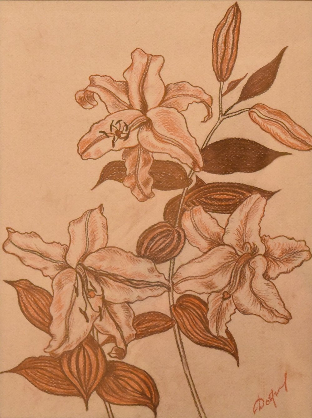"""Lilies (from """"My Garden"""" series)"""