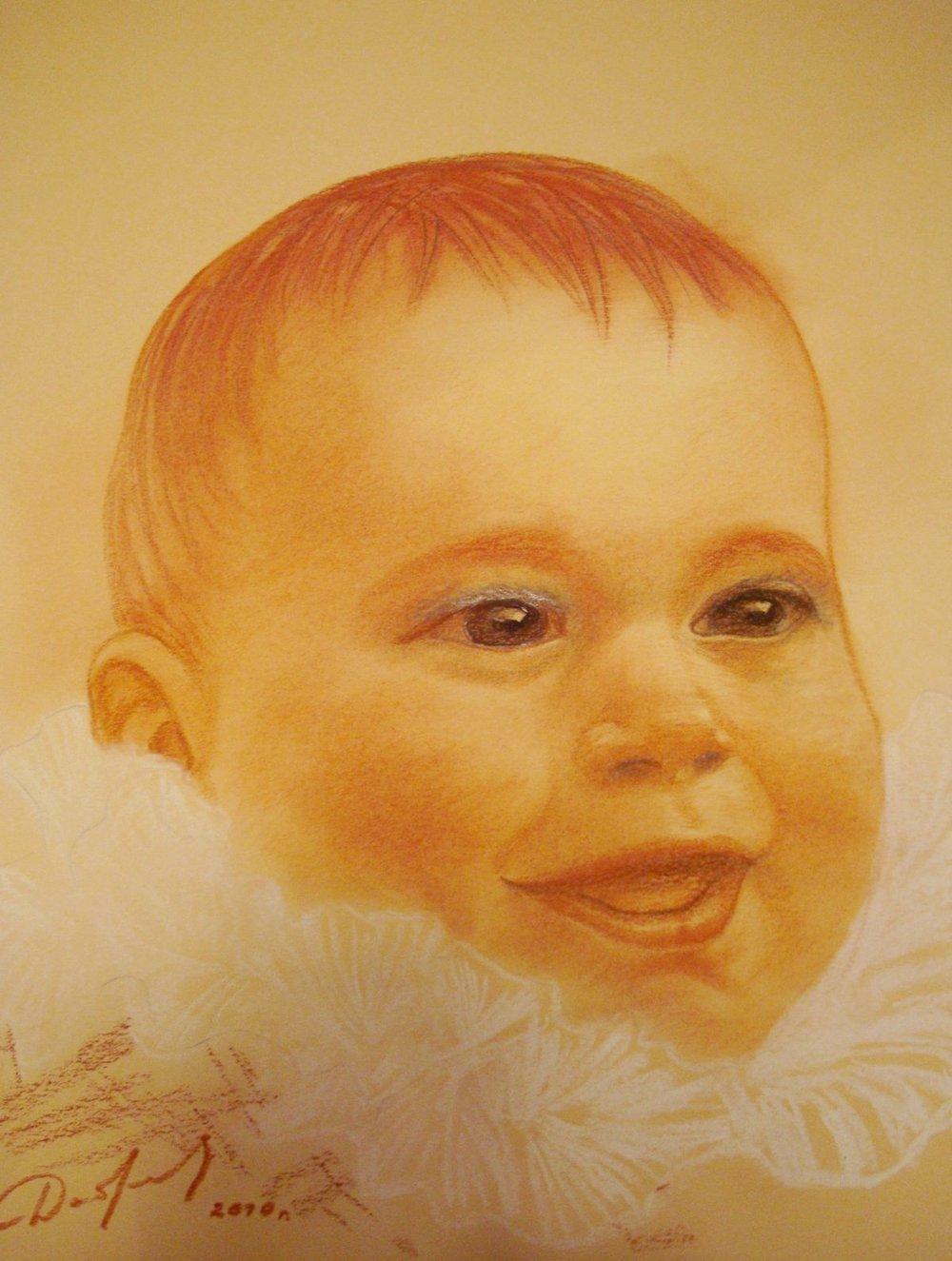 Diana, 9 months