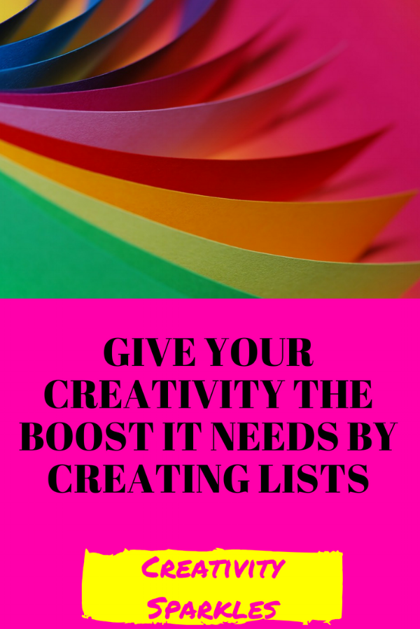 List Making Boosts Your Creativity Energy