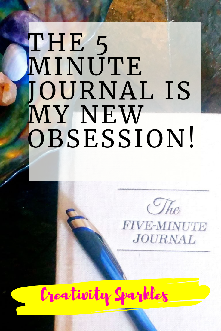 the 5 minute journal current obsession