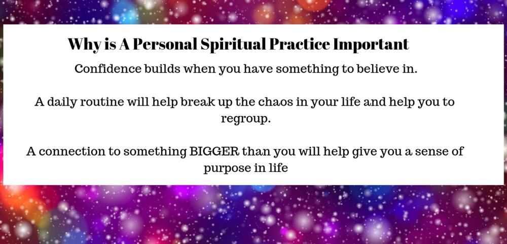 Benefits to having a spiritual practice