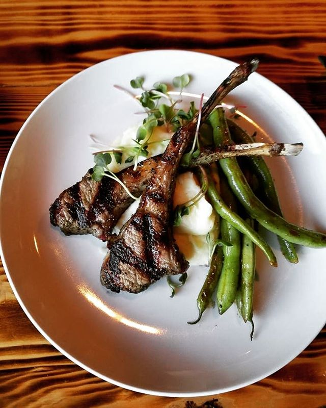 Tonight's Special! Rosemary Lamb Lollipops with goat cheese whipped potatoes and local tender green beans from Allstar Roots. @craftathens #eatlocal #drinklocal @sobrewco @creaturecomfortsbeer @terrapinbeerco @oconeebbrewingco @mondaynight @orpheusbrewing @redharebrewing #petfriendly #outdoorseating #uga #universityofgeorgia #bulldawgnation #universityofgeorgiabulldawgs #dawgnation #my_athens #athensga #craftbeer #foodie #foodporn #localbrew #housemadepasta #special #pasta #freshmade #athensfoodie #happyhour #sundaybrunch #sundayfunday #fromscratch