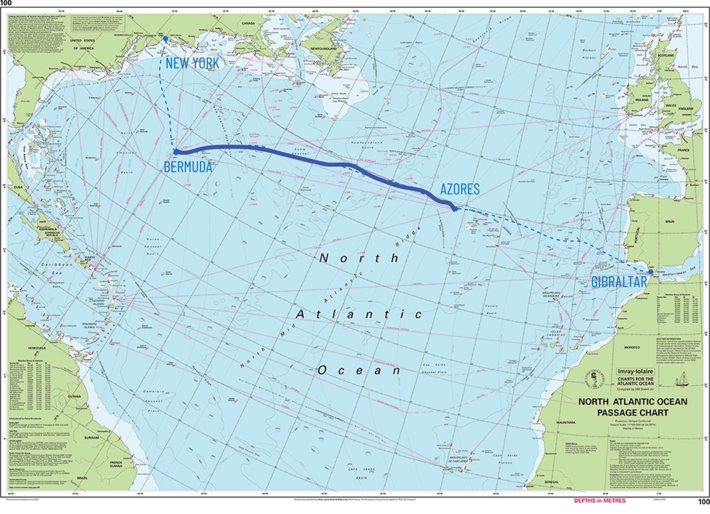 Ruta Bermuda - Azores
