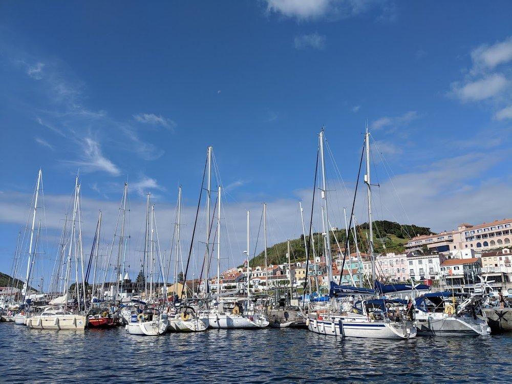Puerto de Horta, Isla de Faial