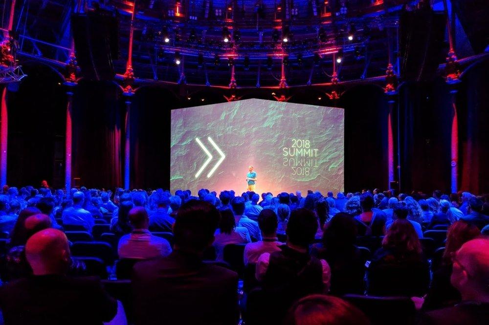 En el Summit del Disruptive Innovation Festival de Ellen MacArthur Foundation