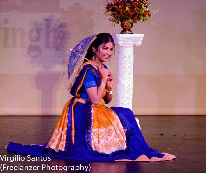 Talent Round (I did a Bollywood dance and just enjoyed every moment of it.)