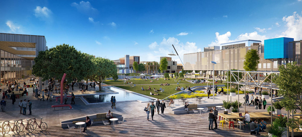 Fishermans Bend Catalyst Site: public space in the innovation and education precinct