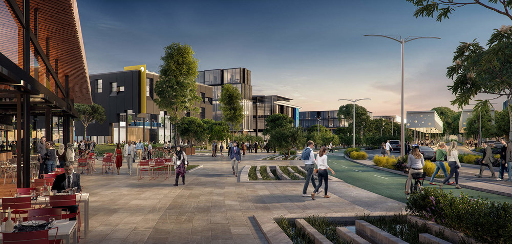 Fishermans Bend Catalyst Site: sustainable streets and public realm