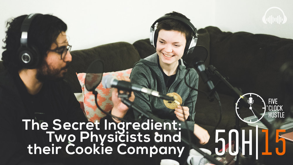 Sean Etesham and Lauren Keyes of Quants Bakery   Quant's is a plant-based baked good service based out of Monrovia, California that delivers cookies and pastries right to your doorstep   5 O'Clock Huslte Episode 15   The ins and outs of being a student entrepreneur