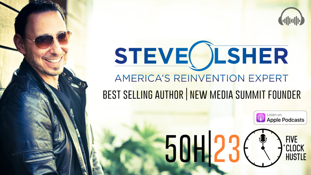 New York Times Best Selling Author helps the 5 O'Clock Hustle find their what.