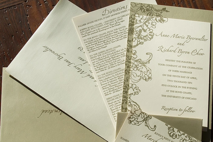 Erickson Design& Lambert Letterpress - Learn More