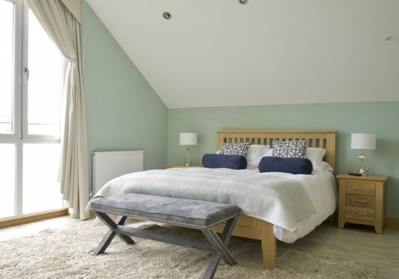 New England style bedroom Coral Interiors