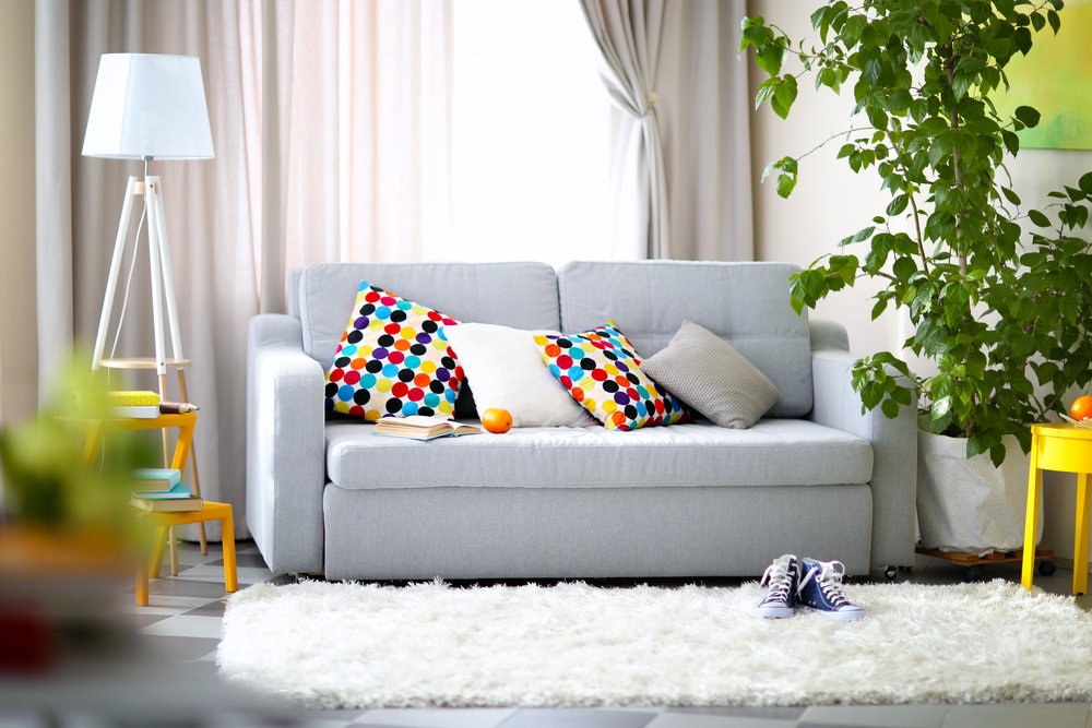 Incorporating new colour scheme home decor