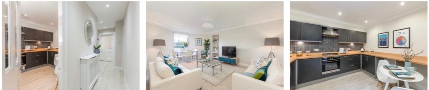 Home Staging Before and After house transformation