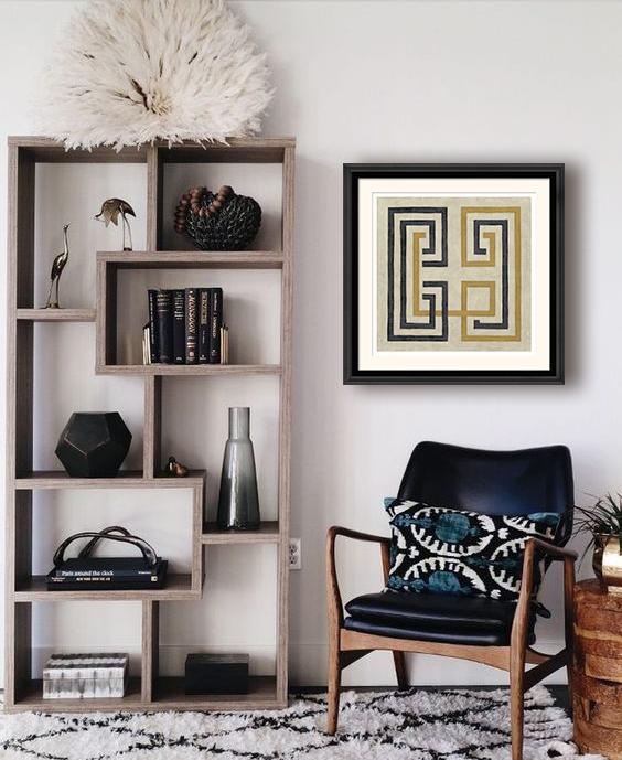 Designer printed frames
