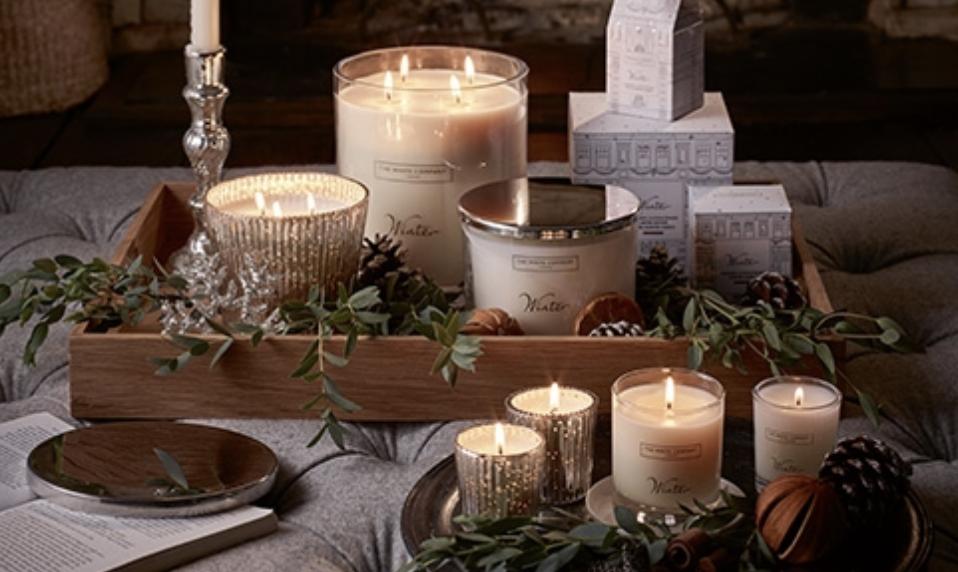 White Company candles
