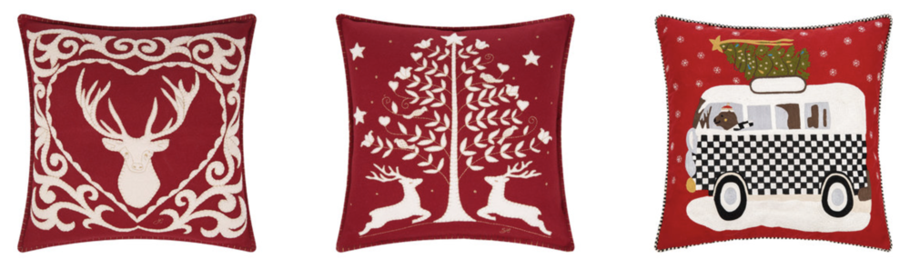 Christmas cushions decor
