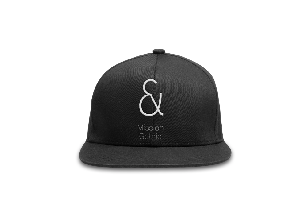 ampersand baseball cap.png